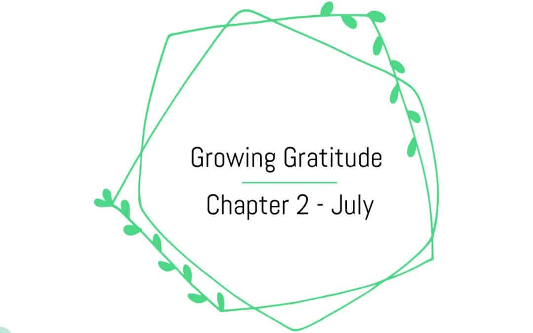 Growing Gratitude – Chapter 2 – July